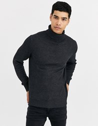 Celio Roll Neck In Grey