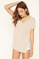 Forever 21 Cutout V Neck Tunic