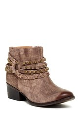 Naughty Monkey Annie Studded Short Boot Brown