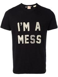 Levi's Vintage Clothing 1960S Graphic I'm A Mess T Shirt Black