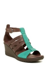 Keen Victoria Wedge Sandal Brown
