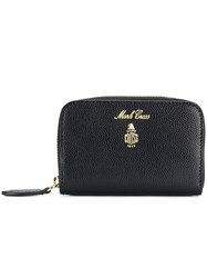 Mark Cross Grace Mini Zip Around Wallet Black