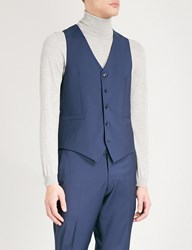 Tiger Of Sweden Chauncey Wool Waistcoat Blue