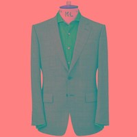 Chester Barrie Prince Of Wales Check Elverton Suit