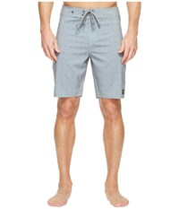 United By Blue River Bed Boardshorts Grey Swimwear Gray