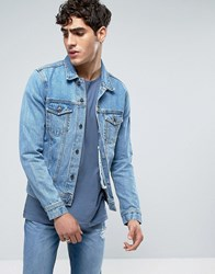 Dr. Denim Dr Dwight Jacket Light Retro Blue