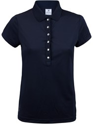 Daily Sports Mindy Short Sleeved Polo Shirt Blue