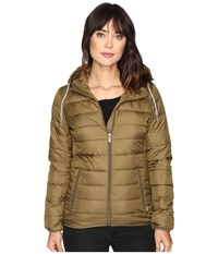 Roxy Forever Freely Jacket Military Olive Women's Coat