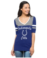 '47 Brand Women's Indianapolis Colts Gameday Debut T Shirt Blue