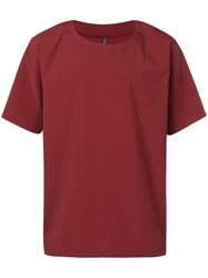 Attachment Oversized T Shirt Red