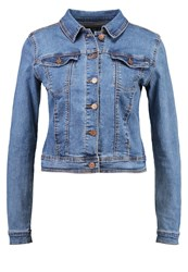 Evenandodd Denim Jacket Blue Stone Blue Denim