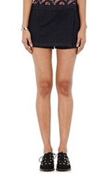 3X1 Women's Denim Skort Blue