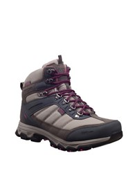 Helly Hansen Round Toe Lace Up Hiking Boots Moon Rock