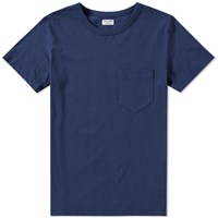 Homespun Tennessee Pocket Tee Blue