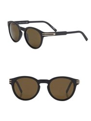 Montblanc 51Mm Injected Sunglasses Black
