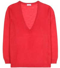 Brunello Cucinelli Knitted Sweater Red