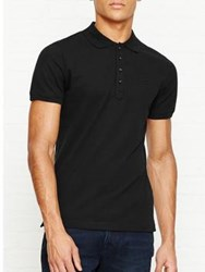 Diesel Heal Short Sleeve Polo Top Black