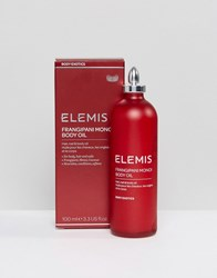 Elemis Frangipani Monoi Body Oil 100Ml Clear