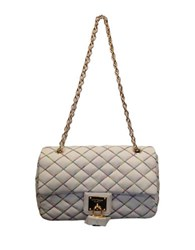 Betsey Johnson Cotton Candy Shoulder Bag Cream