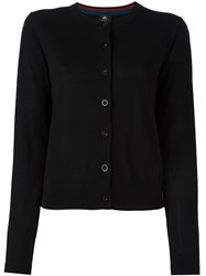 Paul Smith Ps By Button Down Cardigan Black