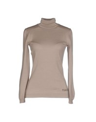 Alviero Martini 1A Classe Knitwear Turtlenecks Women Dove Grey
