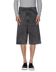 Cheap Monday Denim Denim Bermudas Men Black