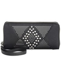 Inc International Concepts Hazell Perforated Wallet Created For Macy's Black