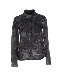 Dr. Denim Jeansmakers Denim Denim Shirts Women Black