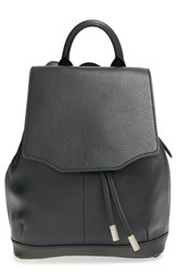 Rag And Bone 'Mini Pilot' Quilted Leather Backpack Black