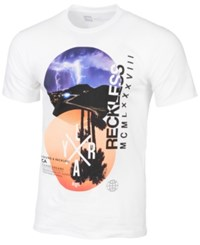 Young And Reckless Men's Dual Vistas T Shirt White
