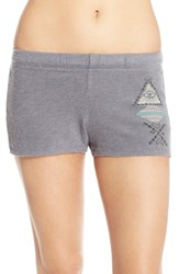 Women's Lauren Moshi 'Evelina' Graphic Lounge Shorts