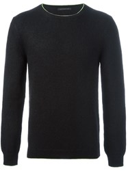 Christopher Kane Crew Neck Knit Black