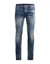 Jack And Jones Glenn Slim Fit Jeans Blue Denim