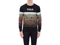 Hood By Air Men's Yard Long Sleeve T Shirt Black