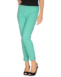 Ql2 Quelledue Casual Pants Light Green