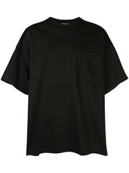 Wooyoungmi Oversized Pocket T Shirt Black