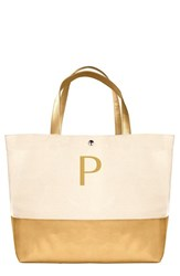 Cathy's Concepts Personalized Canvas Tote Yellow Gold P
