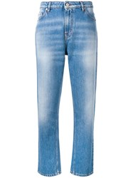 Paul Smith Ps By Straight Leg Jeans Blue
