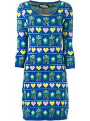 Jeremy Scott Elephant Intarsia Dress