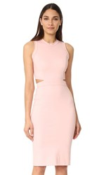 Amanda Uprichard Shaina Dress Dusty Rose