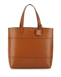 Kelsi Dagger Leather Commuter Tote Bag Cognac