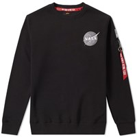 Alpha Industries Space Shuttle Crew Sweat Black