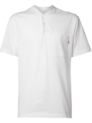 Patrik Ervell Band Collar Polo Shirt