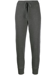 Dolce And Gabbana Cashmere Track Pants Grey