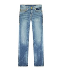True Religion Rocco Washed Jeans Male Blue