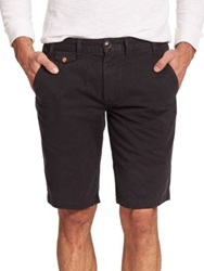 Barbour Neuston Cotton Shorts Red Stone