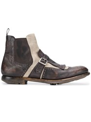 Church's Ankle Oxford Boots Brown