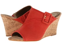 Tahari Pearl Red Women's Wedge Shoes