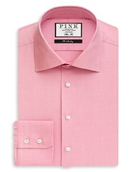 Thomas Pink Anders Check Dress Shirt Bloomingdale's Regular Fit Pink White