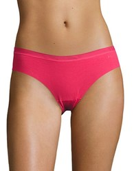 Dkny Solid Microfiber Hipsters Bright Pink